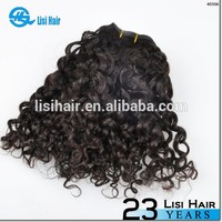 Raw Unprocessed Wholesale Virgin human Hair Brazilian Hair Remy Loose Curl Weave