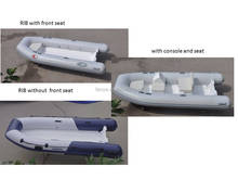 Liya supply 2m to 5m rigid hull open floor rib boat pontoon boat inflatable boat for sale
