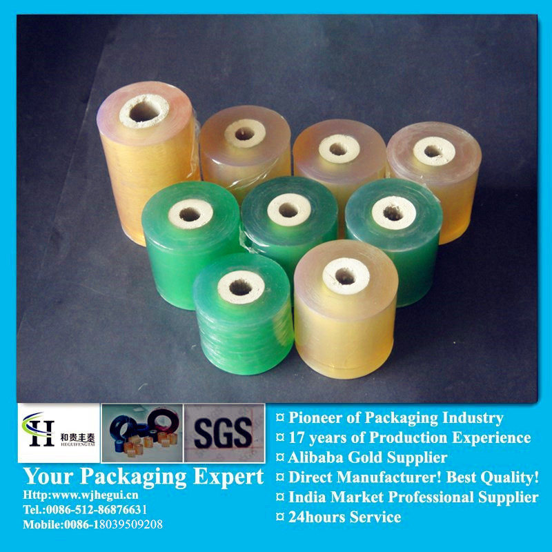 Soft Stretch Free Blue pvc Film For Aluminum Alloy Package