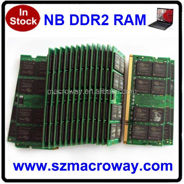 High Quality Ddr2 667 Ram Notebook 1gb Memory 200pin