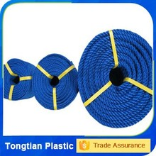 Polypropylene and polyethylene ropes and twines