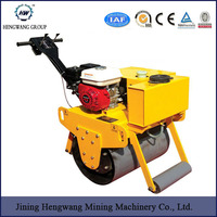 Hydraulic Steering Small Vibration Road Roller with Famous Pump