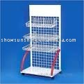 2011-67 wood wire display stand/ display rack/display cabinet online retail store plastic gun case