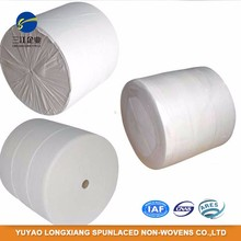30% Viscose 70% Polyester Spunlace Nonwoven Fabric Roll for Wet Wipe