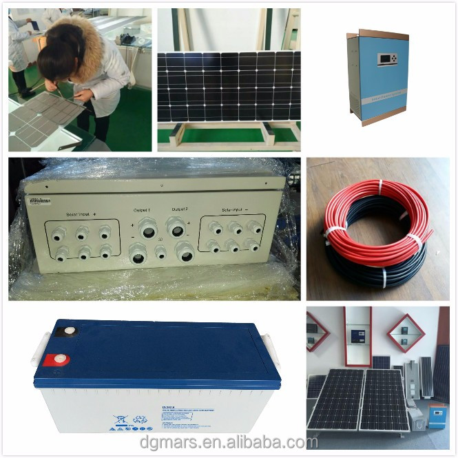 Roof mounting home high efficiency 5000W Solar System,solar energy system