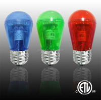 LED S14 Bulb - Outdoor rated. ETL Listed
