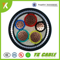 0.6/1KV CU XLPE PVC insulated 70mm2 120mm2 240mm2 5 core power cable