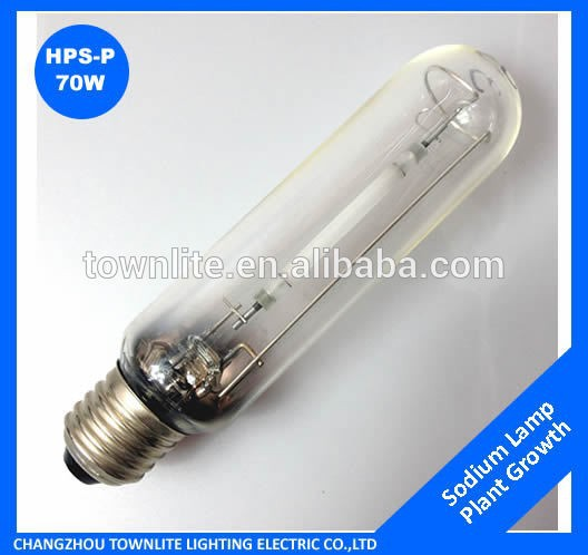 Super Brigher E27 Tubular 70W High Pressure sodium lamp