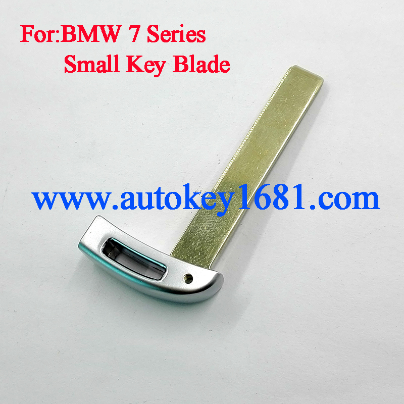 Replacement Smart Car Key Blade For BMW 7 Series 730 745 760 Emergency Smart Spare Key Blade