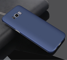 good touch matte plastic back cover for samsung galaxy s8 pc case hard