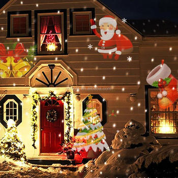 2017 NEW LED projection light (RGBW 4 colors LED) for Christmas Halloween Valentine decorations