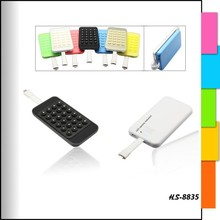 4000mAh Ultra Slim Power Bank with Suction Cups