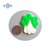 Promotional custom 3D soft PVC rubber vegetables fridge magnet