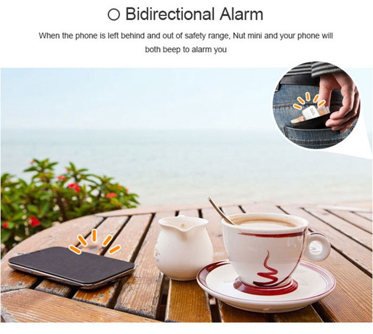 Wireless Bluetooth 4.0 Nut 3 Tracker Smart Finder Tag Tile GPS Key Finder Wallet Alarm Locator for Android IOS Smartphone