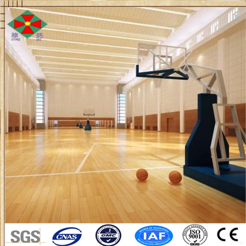 Factory price basketball wood floor sport floor maple floor