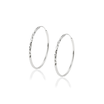 97135 XUPING fashion, concise style ,stainless round hoop Imprint  earring for women