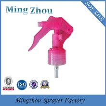 MZ-F Good Quality mini Plastic Material Trigger Sprayer in china/trigger spray bottle