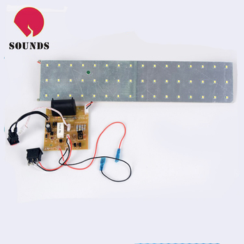Smd led pcb board driverless led chip t tube lights module