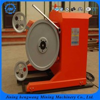 Direct Manufacturer 22-75KW Diamond Wire Saw Machine/Granite Bridge Saw Machine/Travertine Wire Cutting Machine