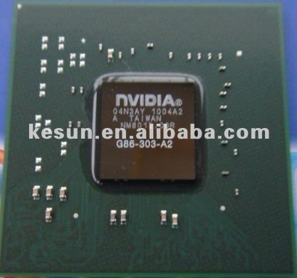 100% NEW NVIDIA 8500GT Chipset graphic IC chip (G86-303-A2)