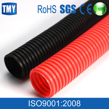 Black Fiexible Cable Protection Polyamide Nylon Hose