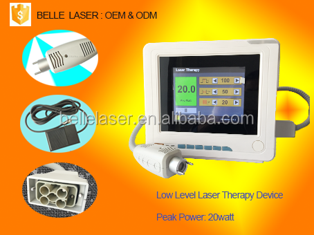 Medical infrared laser therapy device