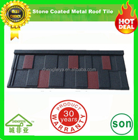 factory produce nigeria stone chips coated metal roof tile