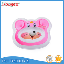 2015 Hot selling cartoon melamine dog and cat bowl with lower price