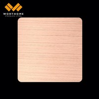 decorative sheet metal Sandblasting Ti-Coffee color acrylic sheet make in China
