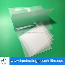 Dustproof 5mil/125mic Plastic Glossy Lamination Pouches Films For DATA/Business Cards Preservation