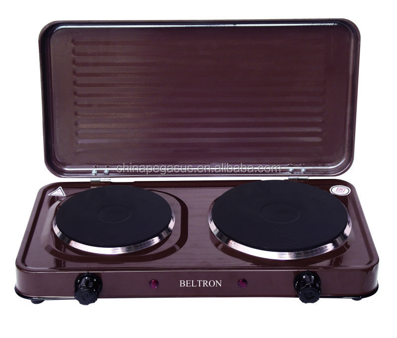 double solid burner electric cooktop(TM-HD05D)