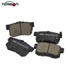 Ceramic Brake Pads with Backing Plate for Honda Accord