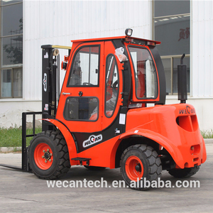All Terrain Forklift 2.5T 4WD Rough Terrain Forklift CPCD25Y