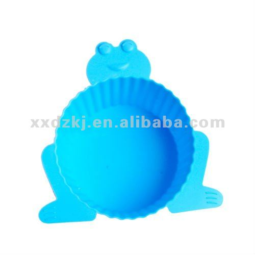 Food Grade Animal Shape Oven Safe Silicone Decoration Mini Muffin/Cupcake Cases/Maker