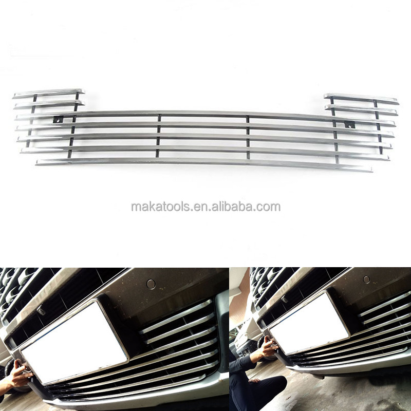 For Ford Explorer 2016 Black Aluminium Front Lower Grill Grille