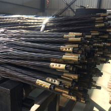 China factory supply 15.2mm mining cable rock bolt for coal mine safety support