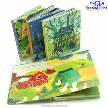 Cheap Children Cardboard Book Printing Children Board Book Printing Services