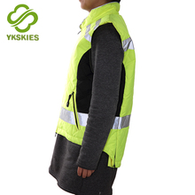 Professional manufacture women's reflective running vest reflective jacket womens bike safety gear