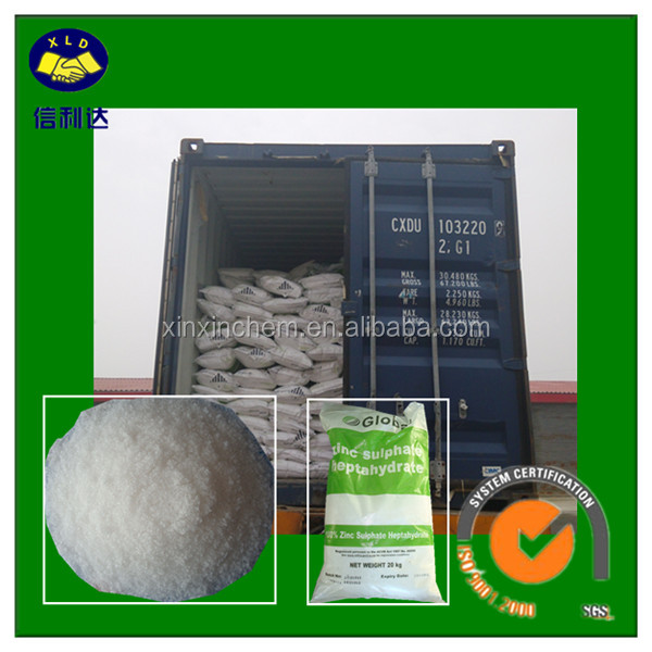 Zinc Sulphate Salt Index