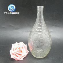 500ml wholesale pear shaped empty diffuser vase glass bottle
