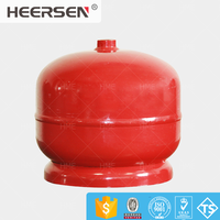 Small outdoor 2kg lpg gas cylinder with competitive price