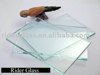 3mm Clear/Plain/White Float Glass with CE and ISO 9001