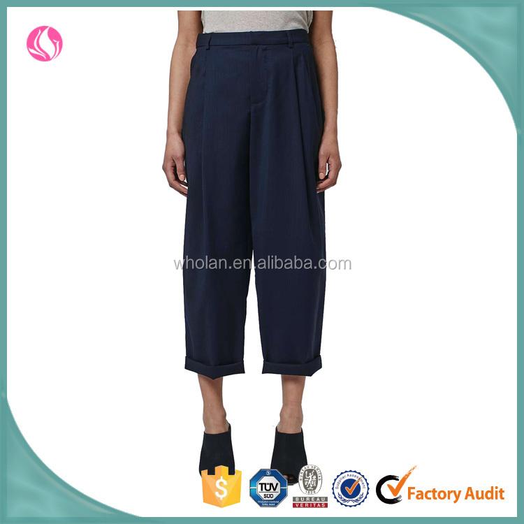Luxury Latest Fashion Women Clothing Design High Waist Pleated Midi Skirt