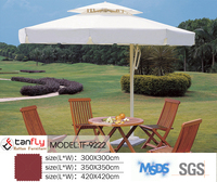 46 inch outdoor windproof beach umbrella with stainless steel frame
