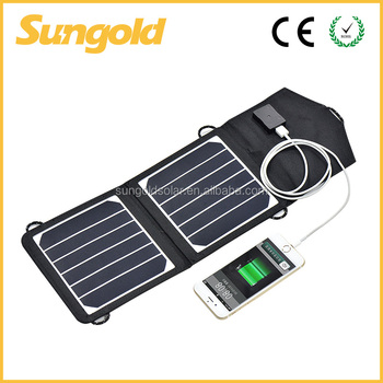 7w Mini Portable Solar Charger Panel