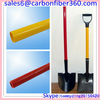 Heat-resisting Good insulation fiberglass Handles hollow tube, high strength fiberglass shovel tube