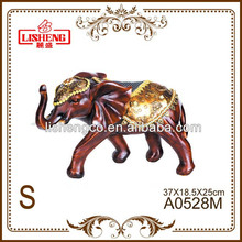 Resin decorative elephant gift and craft in stock A0528M