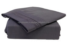Microfiber cheap hotel used bulk Bed Sheet