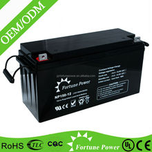 Fortune Power Deep Cycle 12Volt 150Ah GEL Solar Power System Dry Cell Battery