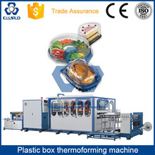 DISPOSABLE TAKEAWAY PLASTIC PP PS PE PET FOOD CONTAINER THERMOFORMING MACHINE